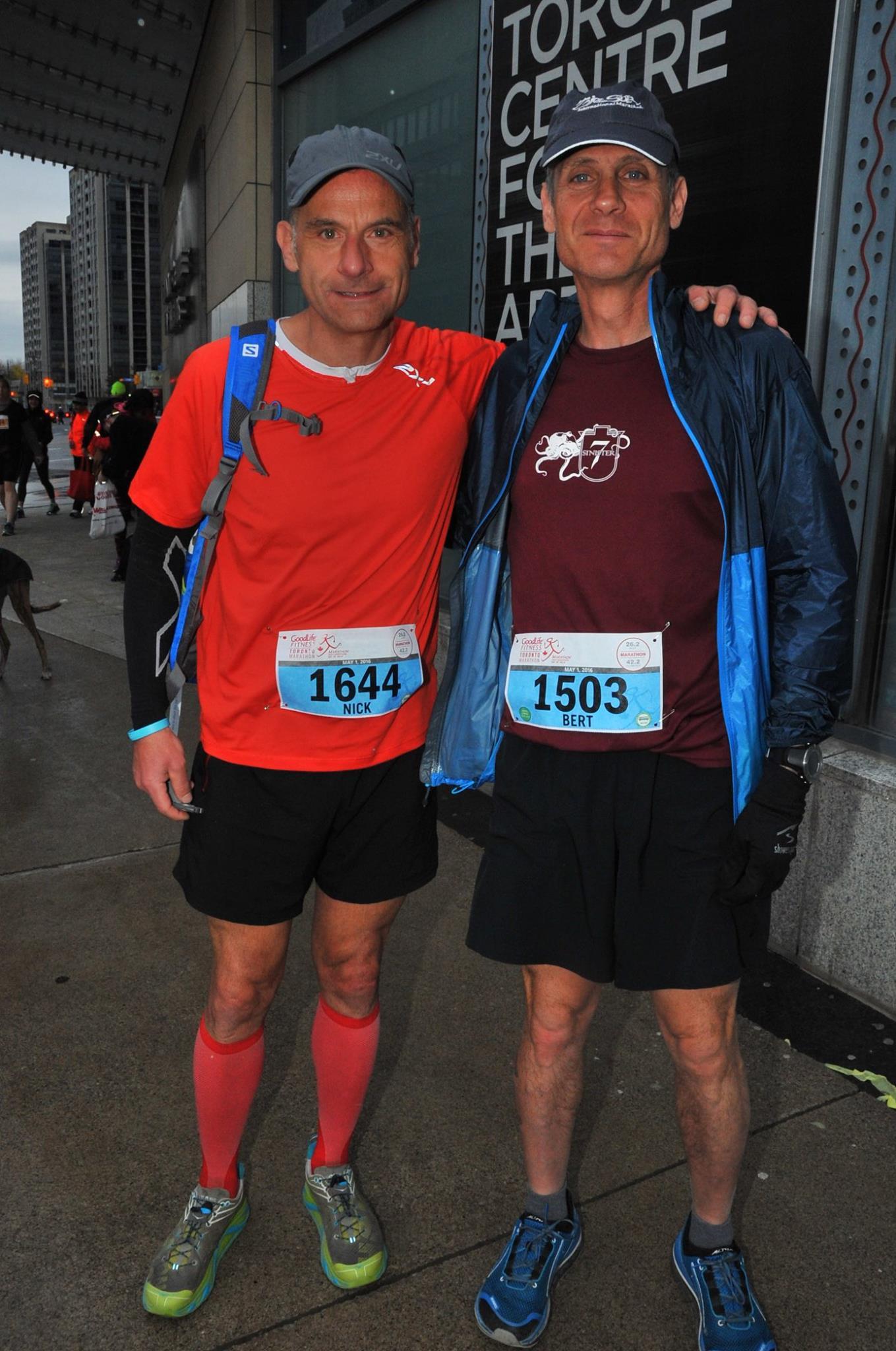 Toronto Marathon Start